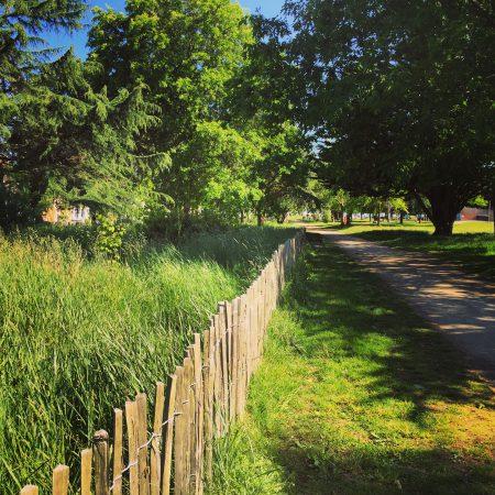 Le parc paysager