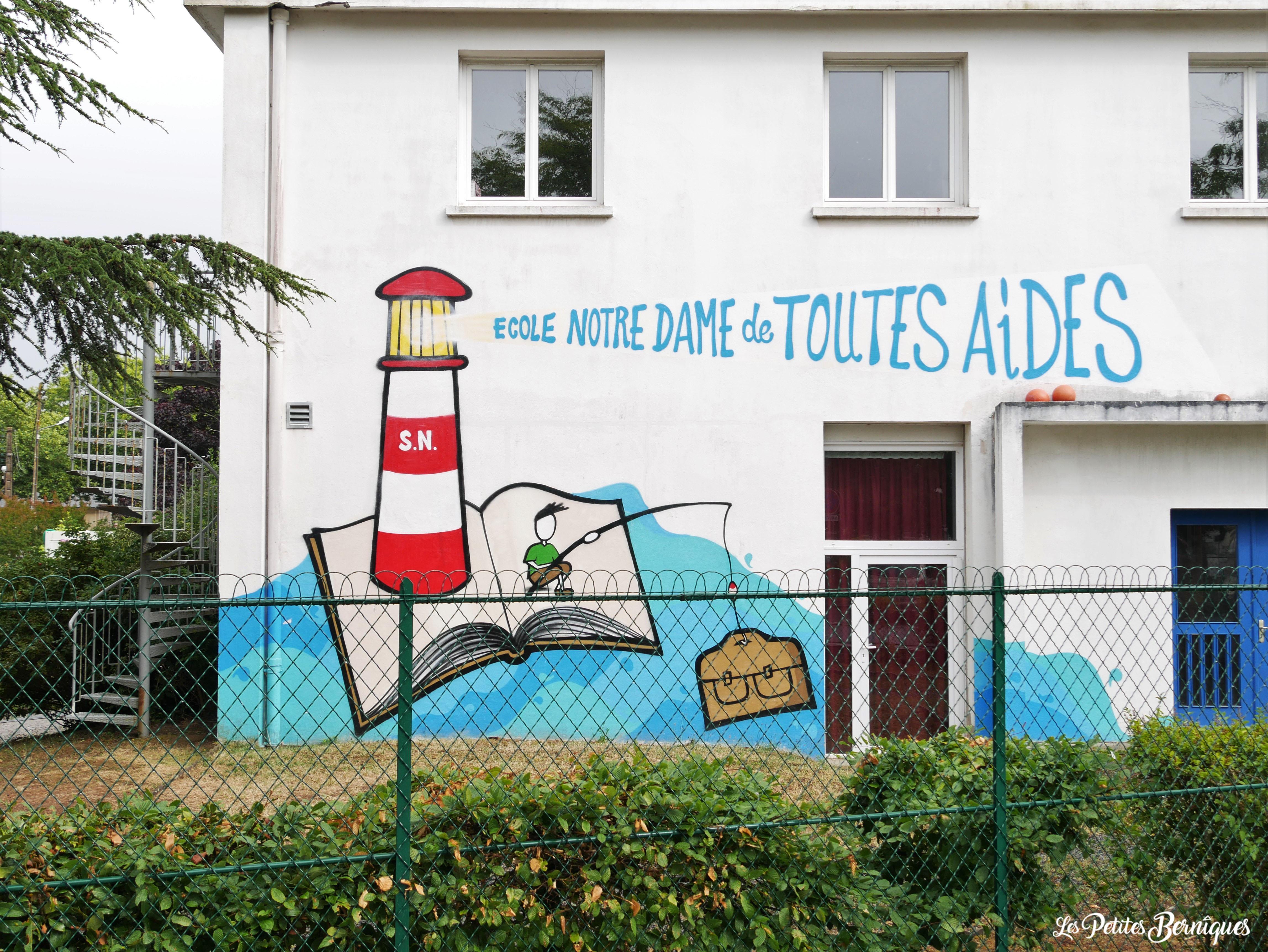 Fresque Ecole Notre-Dame de Toutes Aides