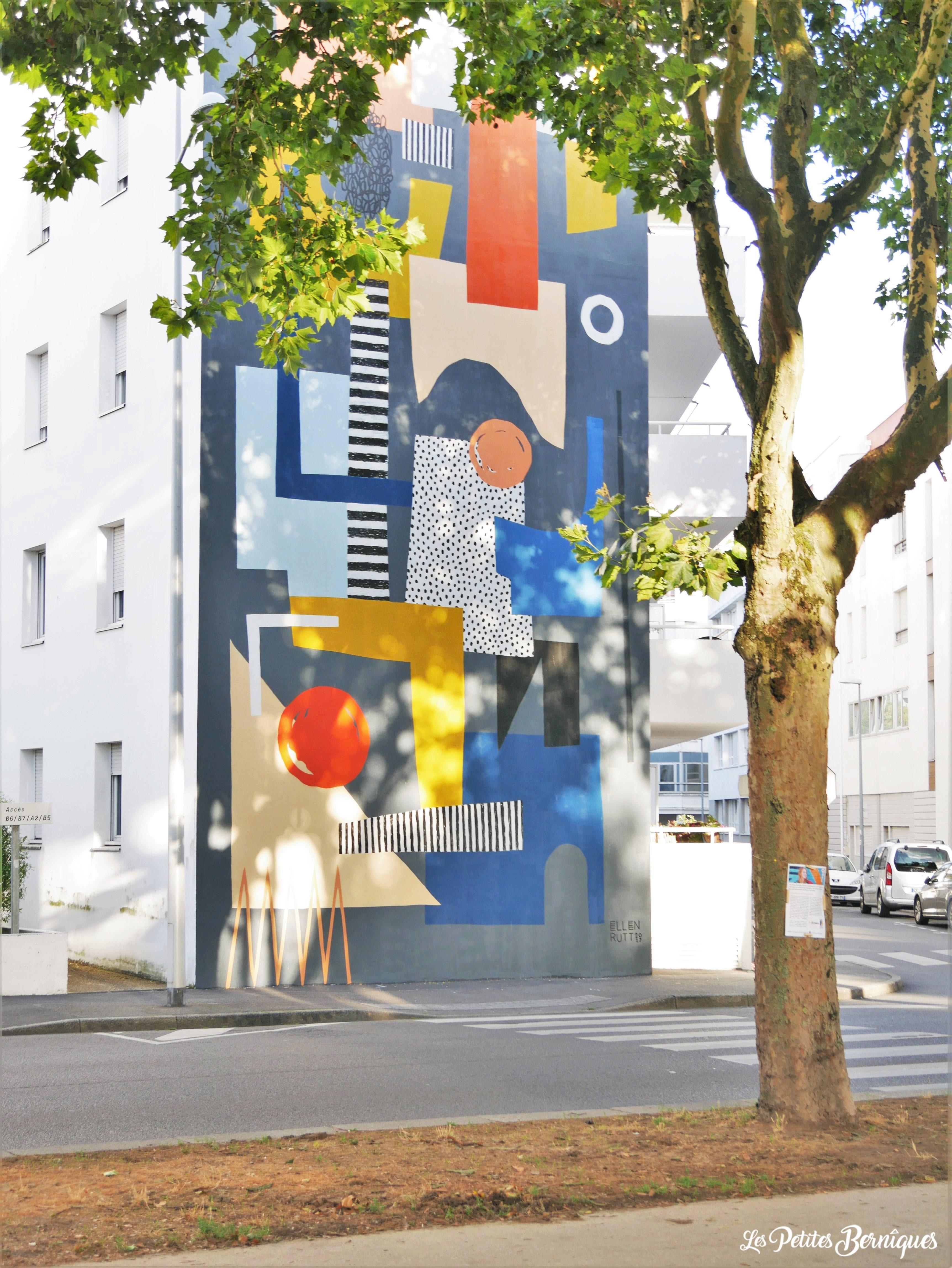 Fresque Ellen Ruth Saint-Nazaire