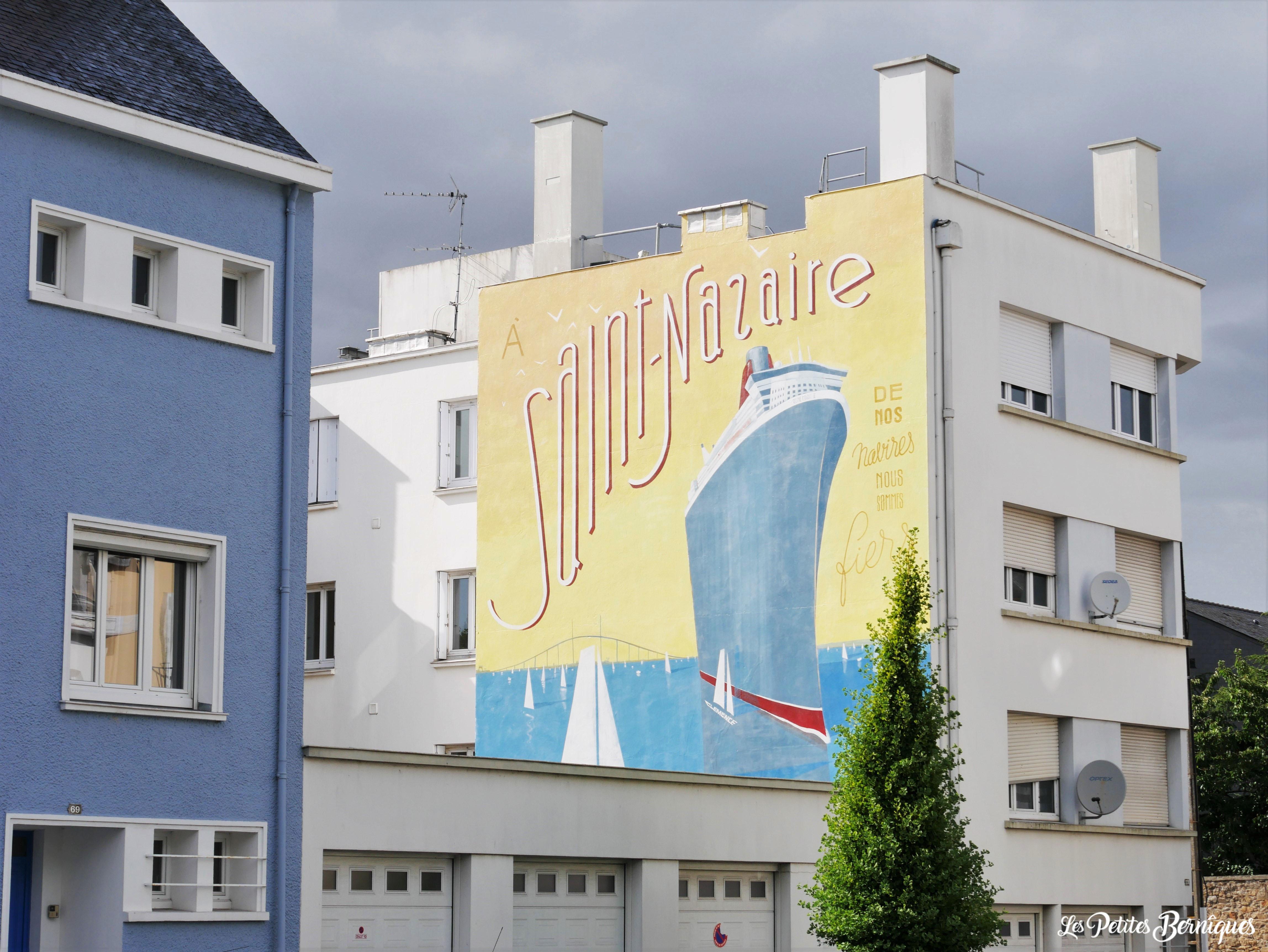Fresque Toques Freres Saint-Nazaire