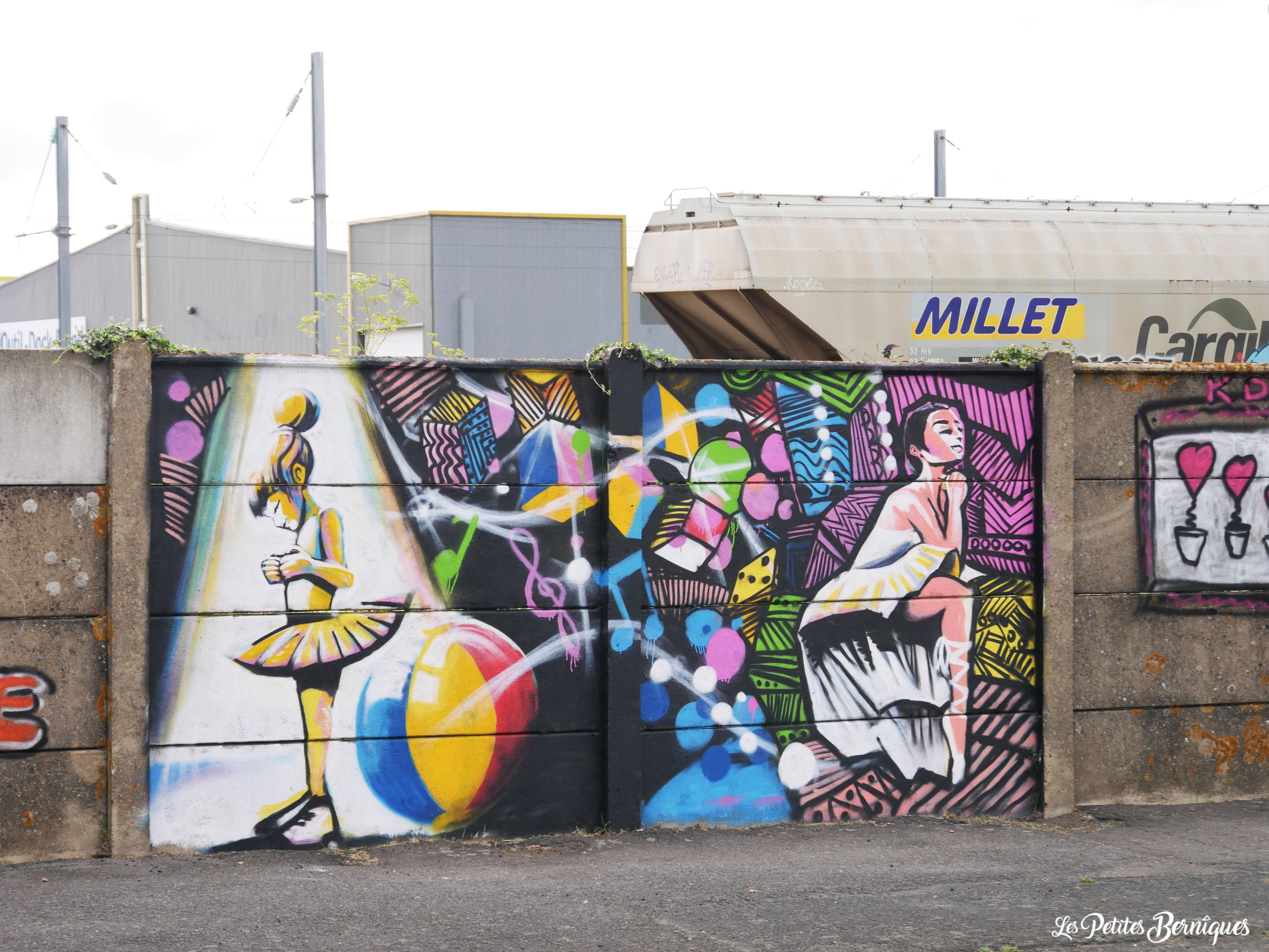 Graffiti boulevard Paul Leferme Saint-Nazaire