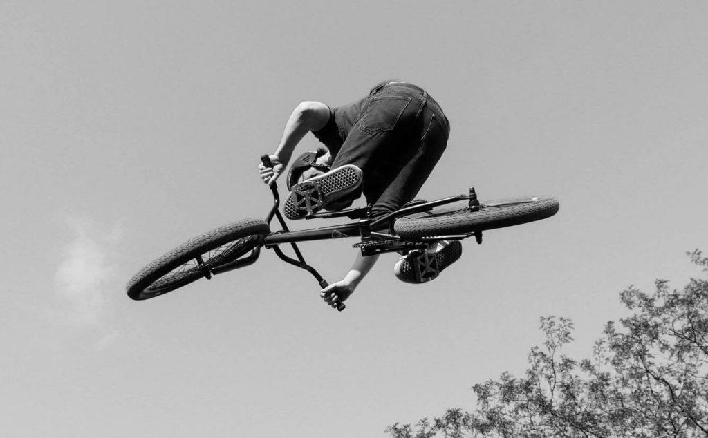 Saut BMX