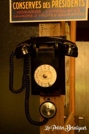 ancien téléphone aulnette