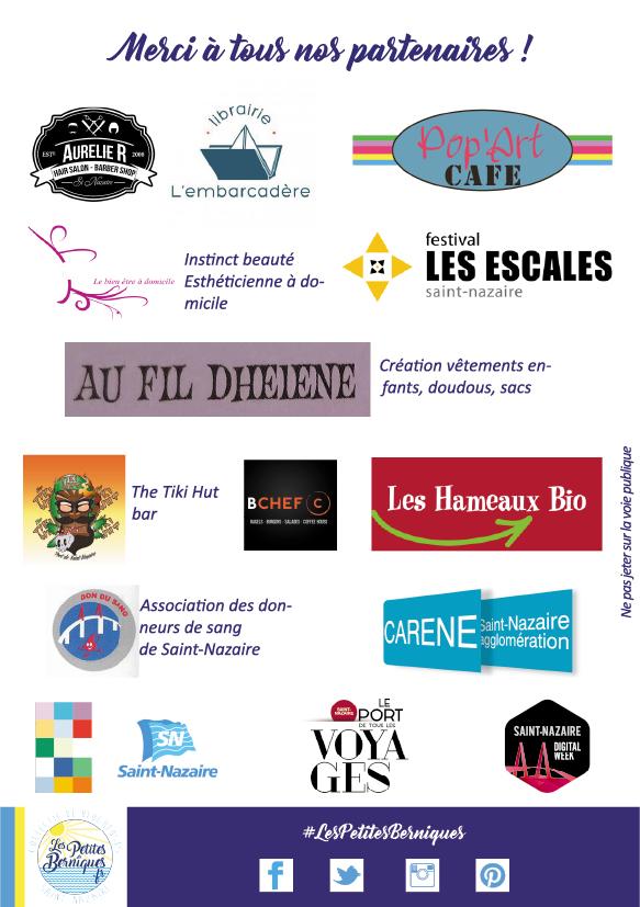saint-nazaire digital week - balade numerique - les petites berniques - partenaires