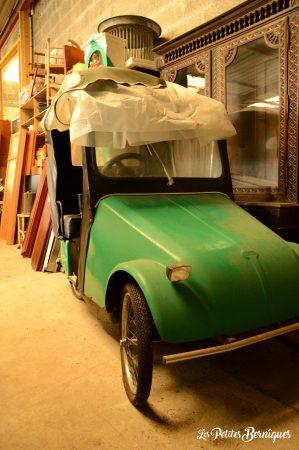 vieille voiture aulnette
