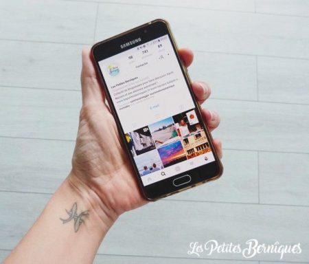 Compte Instagram - les petites berniques - collectif blogueuses - saint-nazaire