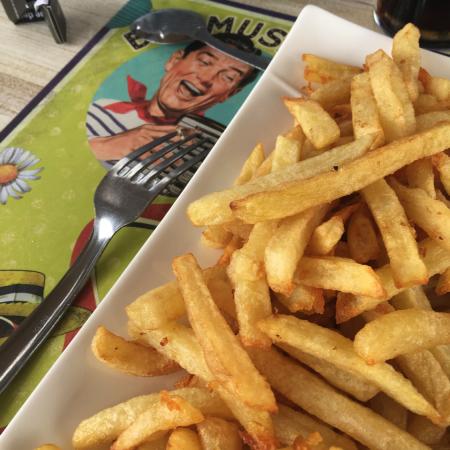 Les frites maison