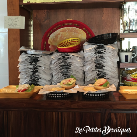 Panières du Burger House