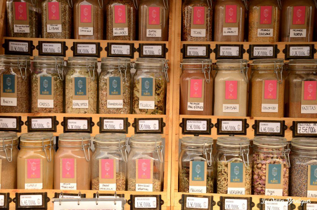 épices thé infusions