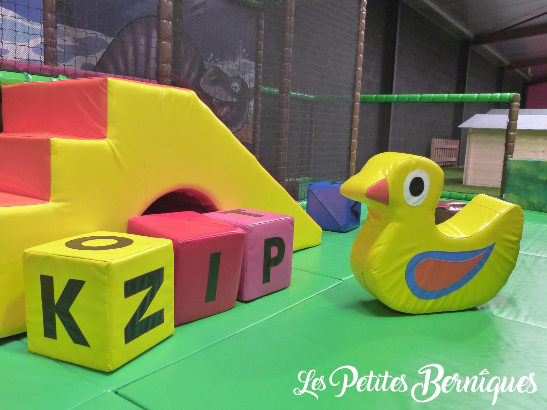 Espace enfant - parc de jeux - saint-Nazaire - geckoland