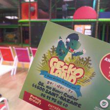 Geckoland - parc couvert - jeux enfants - saint-nazaire