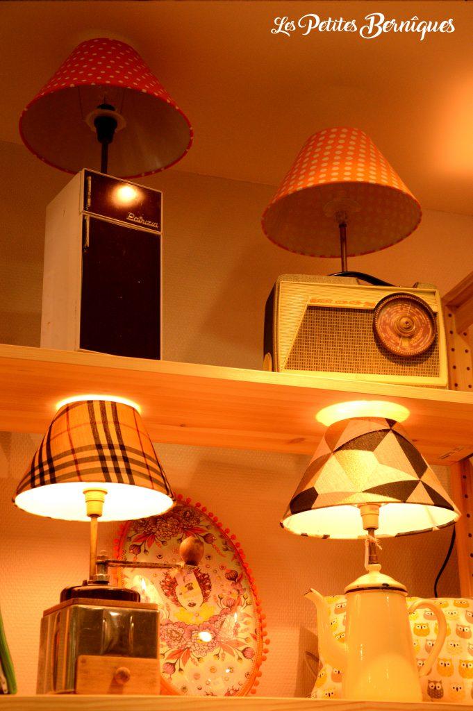 lampes melle disjonctée