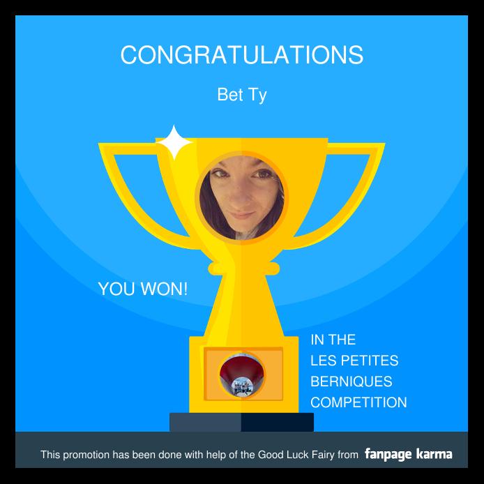La gagnante Facebook