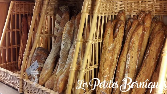 boulangerie moreau saint-nazaire - baguettes