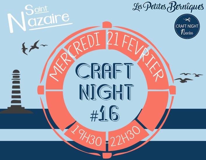 Craft night - saint-nazaire - les petites berniques