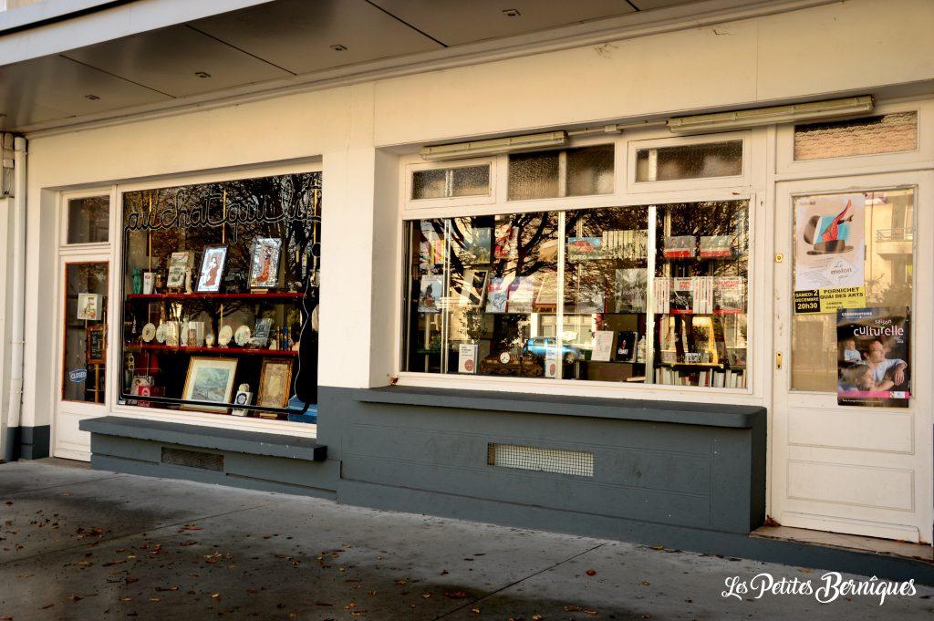 librairie au chat qui lit saint-nazaire