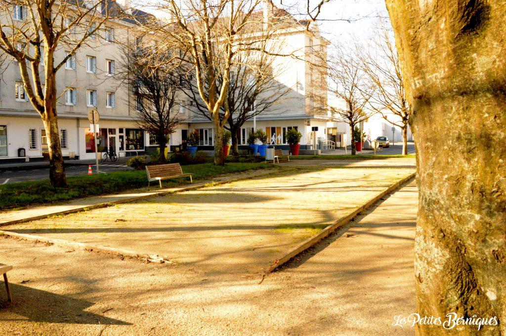 place henri poincaré terrain de pétanque st-nazaire