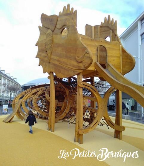 Jeux bois - saint-nazaire - dragon
