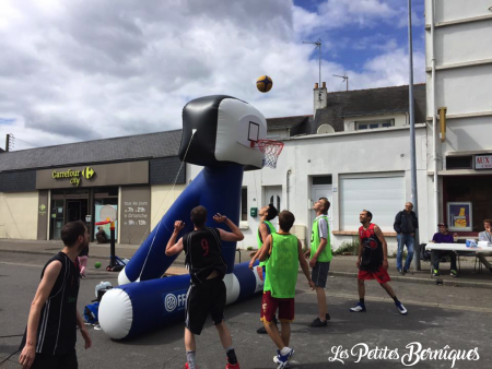 Match de street basket