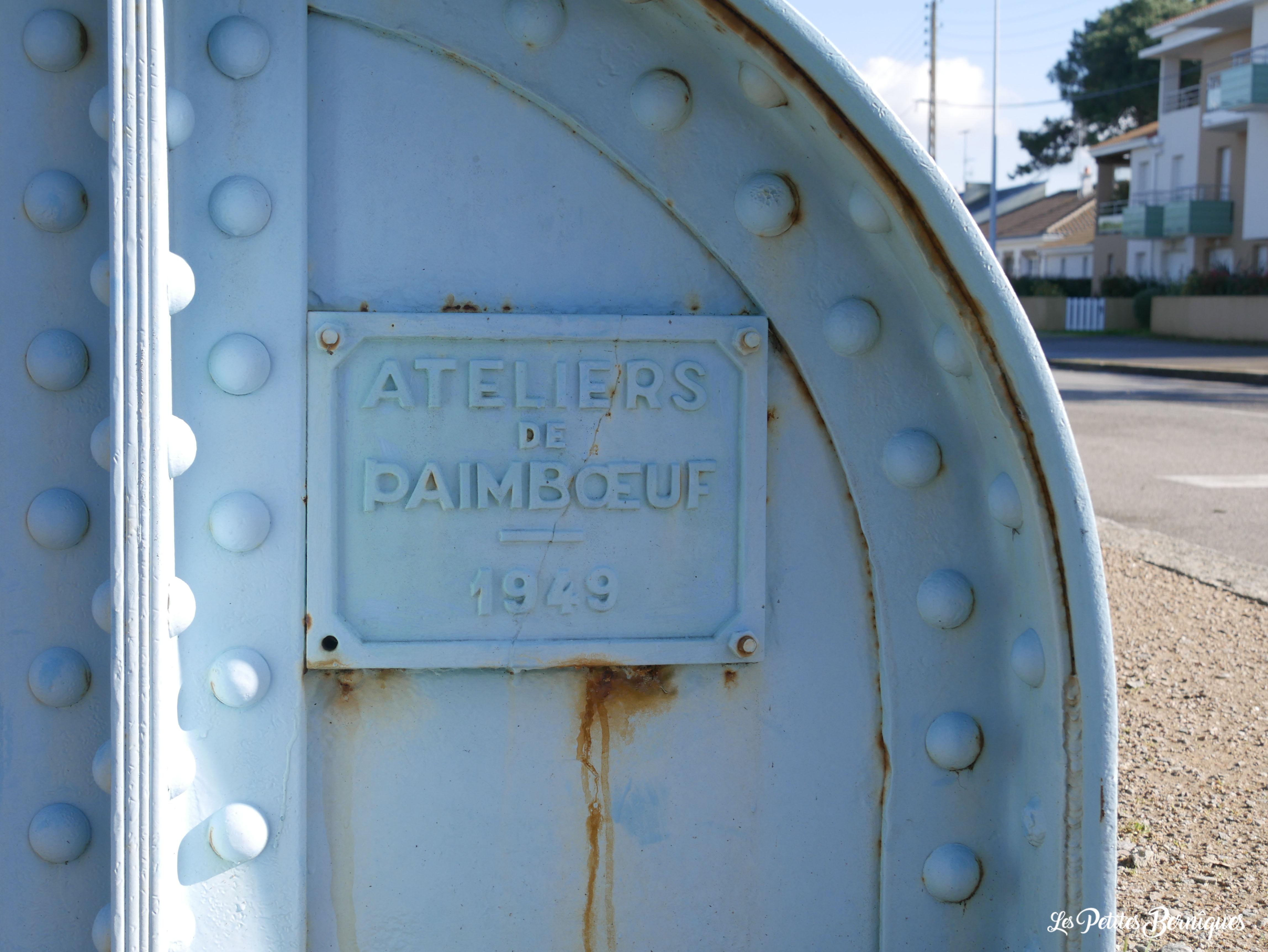 Passerelle bac - Saint-Brévin