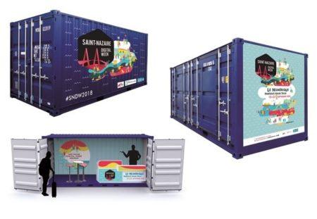 Le container - Saint-Nazaire Digital Week