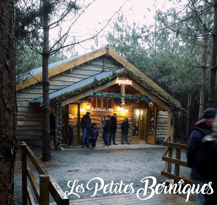 chalet de noel - legendia parc