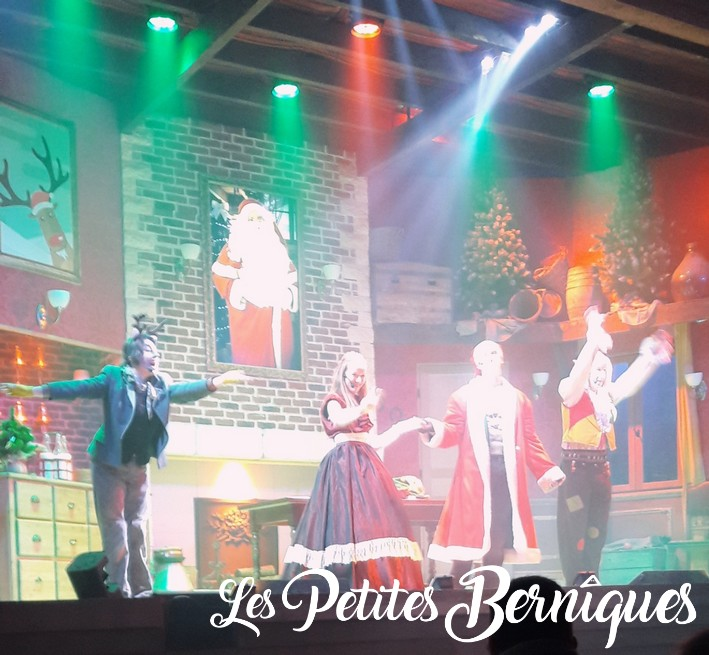 legendia parc - spectacle de noel