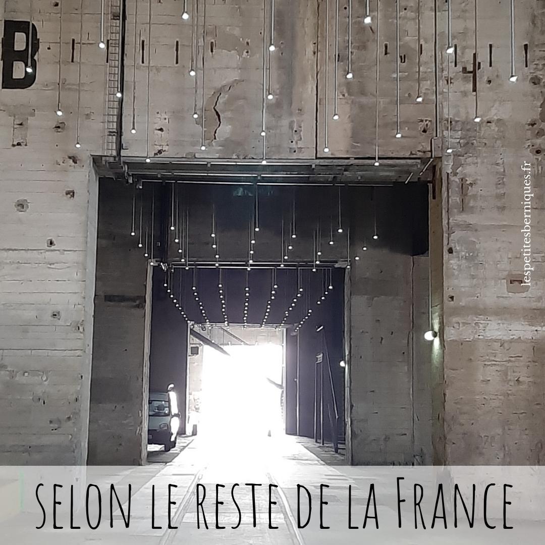 Saint-Nazaire selon le reste de la France