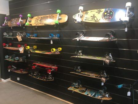 Long board skates
