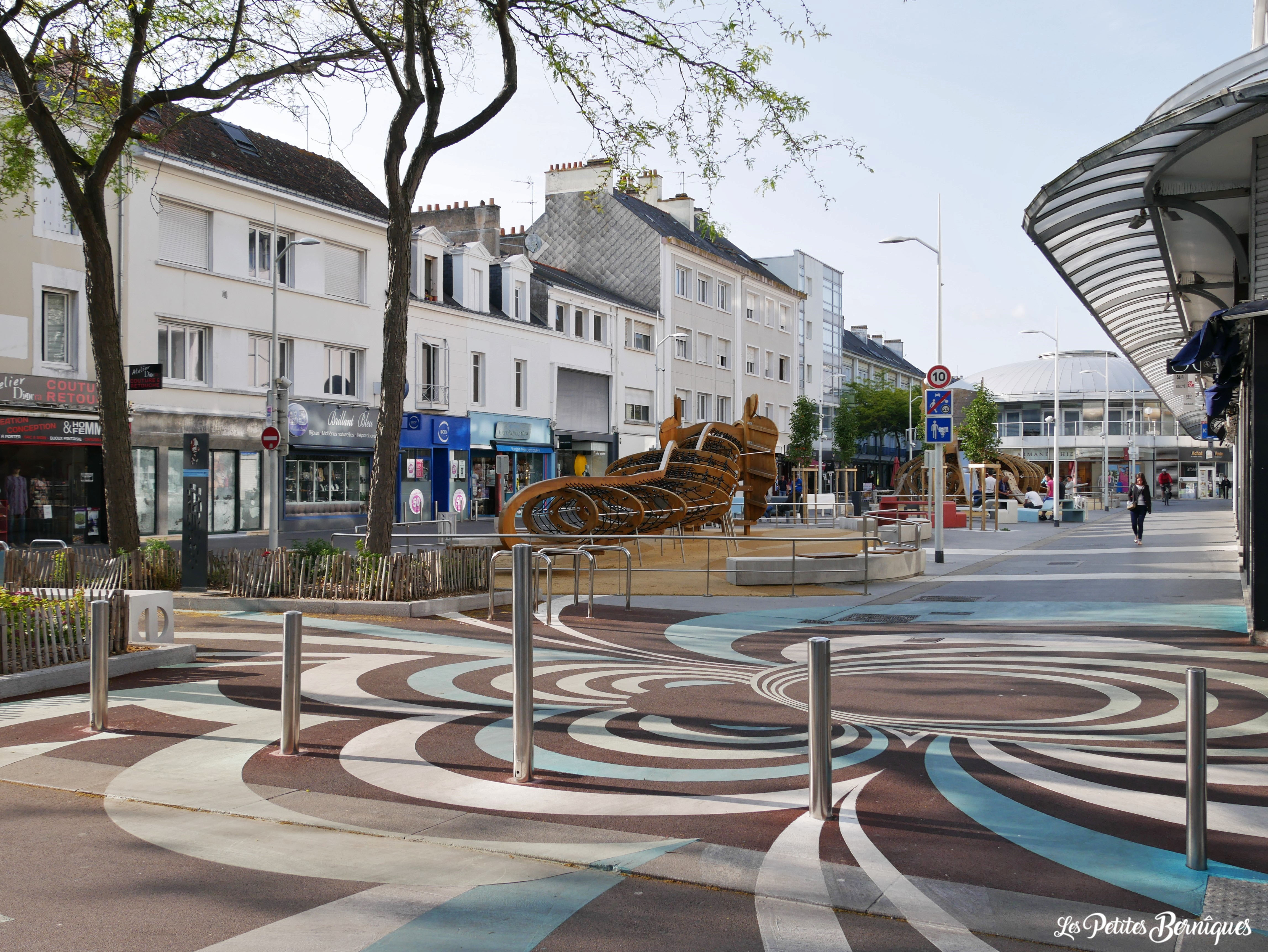 Marquage au sol collectif Carol Kim Saint-Nazaire