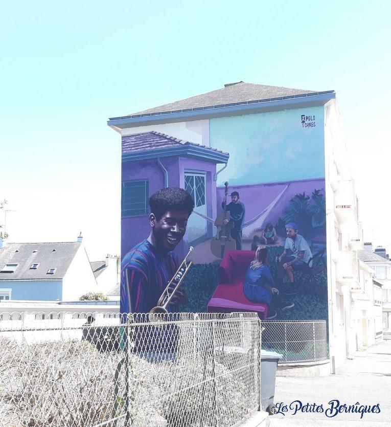 Fresque saint-nazaire - apolo torres