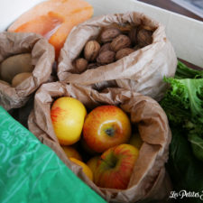 Les Paniers Bio solidaires - panier de legumes et fruits
