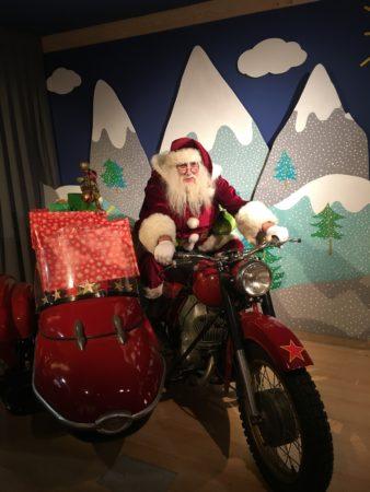 La moto du Père Noël