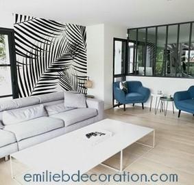 Idée déco salon - décoratrice d'intérieur Saint-Nazaire