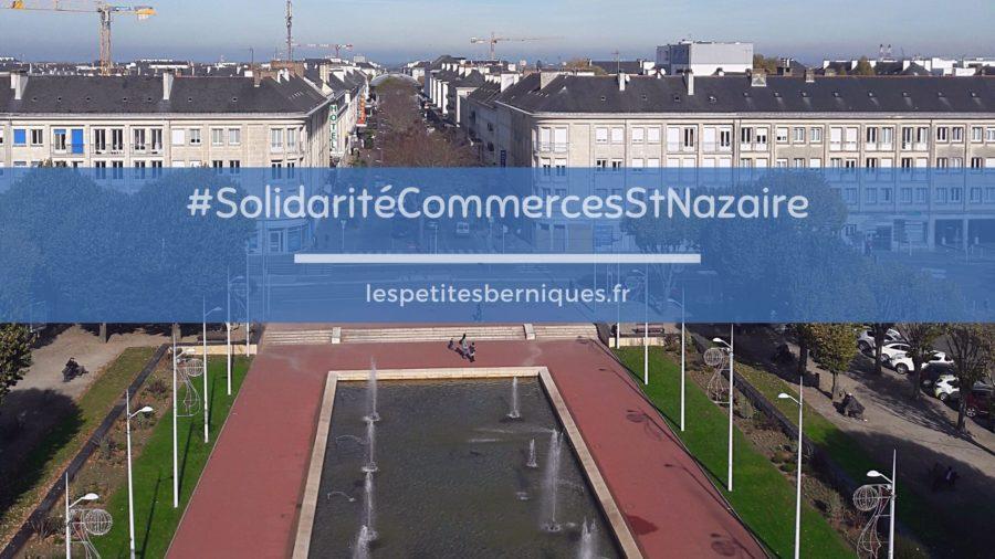 Solidarité confinement commerces saint-nazaire