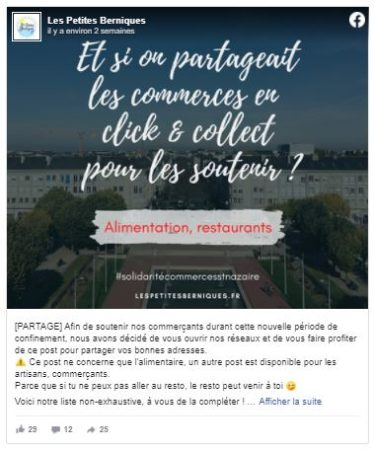 confinement saint-nazaire - alimentation restaurants