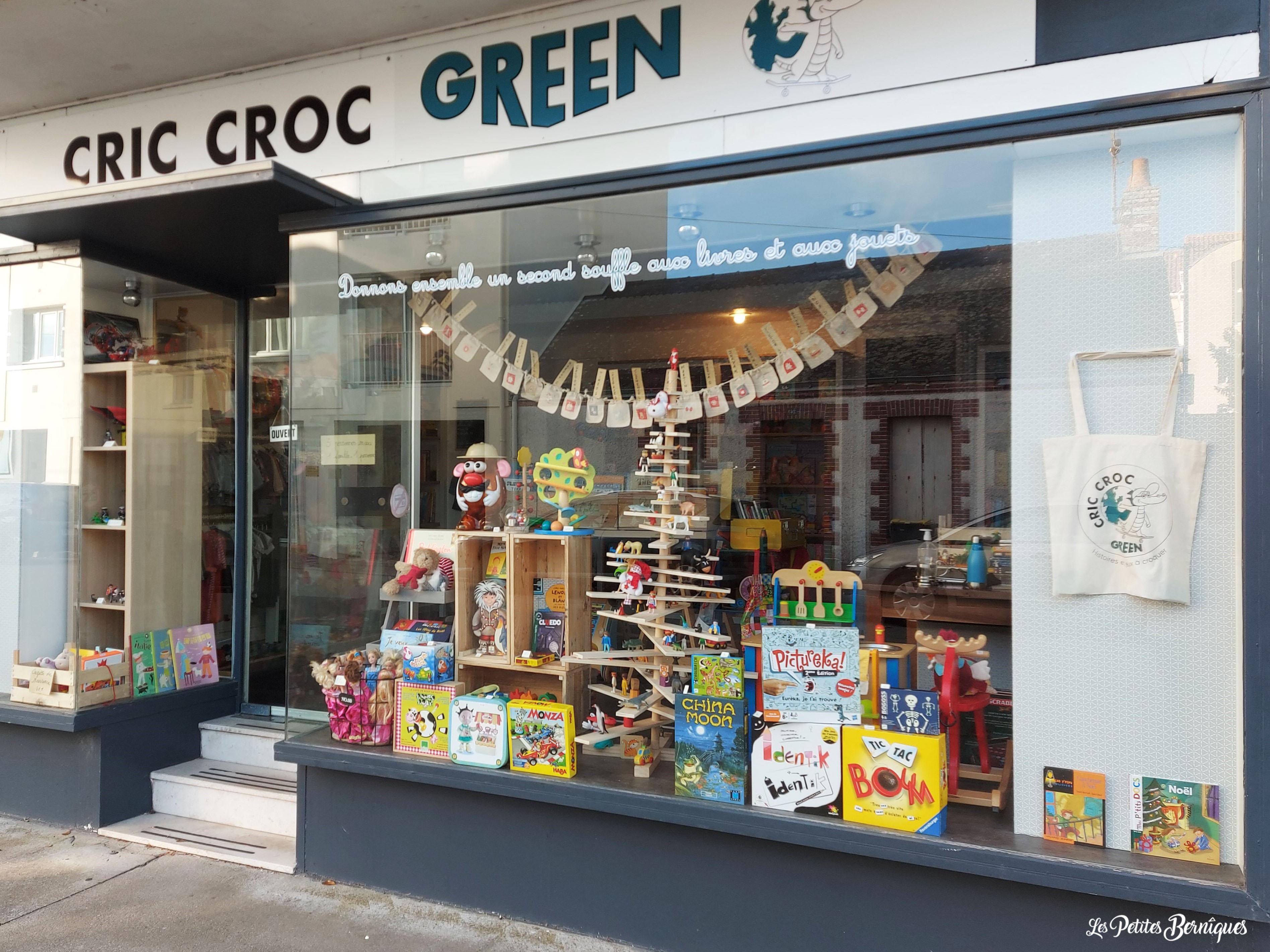 Cric croc green - Boutique Saint-Brevin