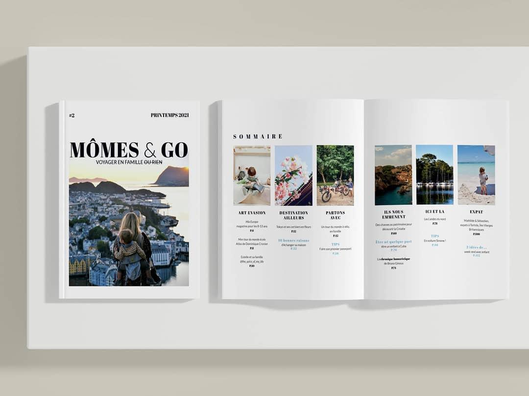 MÔMES & GO magazine, ou comment voyager en famille