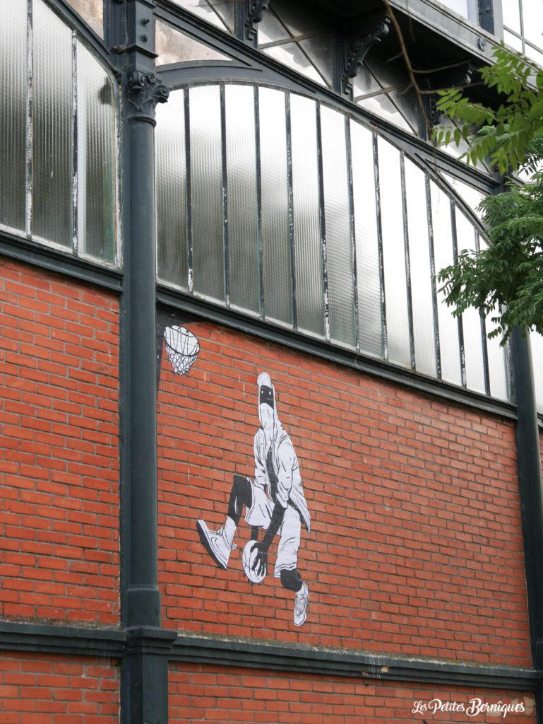 Street art halles de Penhoet