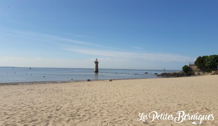 plage villes matin - saint-nazaire